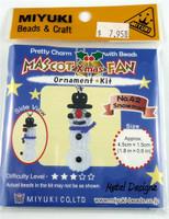 Miyuki Mascot Bead Kit - Snowman