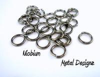 """Niobium Jump Rings 18 Gauge 1/4"""" id."""