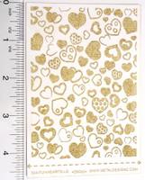 Laser Cut Texture Paper - Fun Hearts