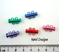 2 strand slide clasps - amazing colors
