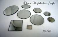 Beading Mirrors - Aboriginal Beading Supplies - Craft Mirror - Self Adhesive