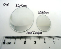 Oval Mirrors - Craft and Beading uses