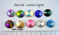 Rivoli 18mm - Swarovski Crystal - Sold individually
