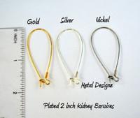 Kidney Earwires - Bags of 10 pair