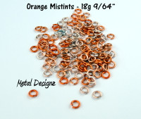 "AA 18g 9/64"" - Mistinted Orange - 1 oz bag"