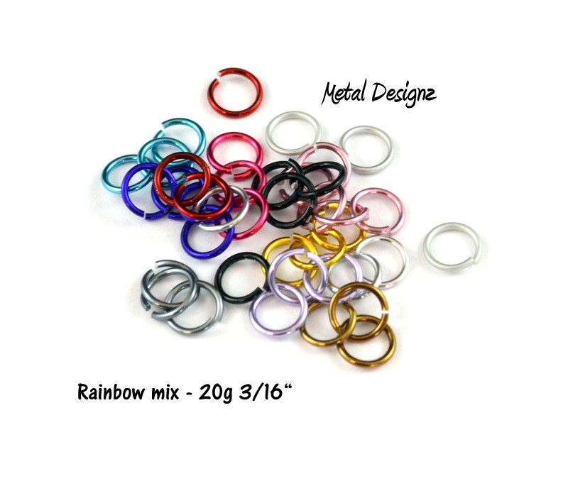 "Anodized Aluminum 20g 3/32"" - Shop now"