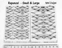 Laser Cut Texture Paper - Rapunzel