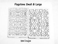 Laser Cut Texture Paper - Flagstone