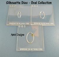 Oval Silhouette Die Set of 3