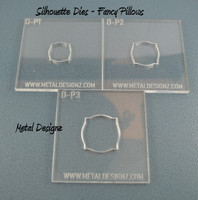 Silhouette Dies - Pillow Collection - 3 dies