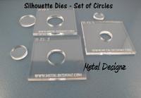 Silhouette Dies - Circles Collection - 3 dies