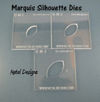 Silhouette Dies - Marquis Collection - 3 dies