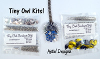 Tiny Owl Kit - GriffinMaille Kit - No Tutorial - One Pendant & Chain