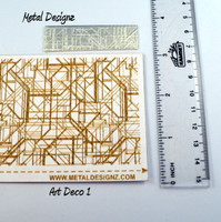 Art Deco Laser Paper for your rolling mill
