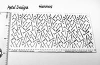Laser Cut Texture Paper - Hammer