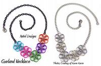 Borealis Garland Necklace Kit - Karen Karon - Kit Only - No Tutorial Included