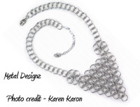 Borealis Bib Necklace Kit - Karen Karon - Kit Only - No Tutorial Included