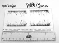 Laser Cut Texture Paper -Wildgrass
