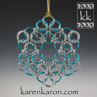 Borealis Snowflake Kit - Karen Karon - Kit Only - No Tutorial Included