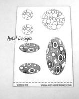 Laser Cut Texture Paper - Project Sheets - Circles