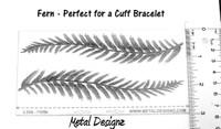 Laser Cut Texture Paper - Fern