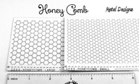 Laser Cut Texture Paper - Honey Comb