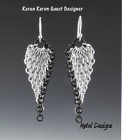 Leaf-Shaped Trinity Twist Earring Kits - Karen Karon - Kit Only - No Tutorial Included
