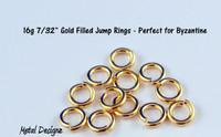 "Gold Fill 16 Gauge 7/32"" id."