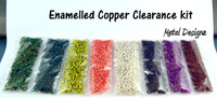 Enamelled Copper Clearance Kits  - $32 for half a POUND of rings! #1