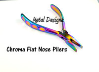 Chroma - RAINBOW Pliers - Flat Wide Nose - Sold Individually