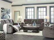 Tulen Gray Reclining Sofa, Loveseat & Rocker Recliner