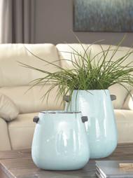 Diah Blue Vase Set (2/CN)
