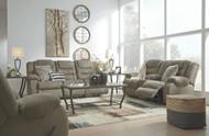 Segburg Cobblestone REC Sofa, DBL REC Loveseat with Console & Rocker Recliner