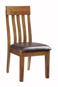 Ralene Medium Brown Dining Upholstered Side Chair