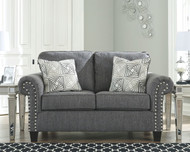 Agleno Charcoal Loveseat