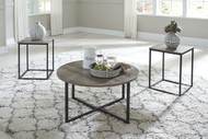 Wadeworth Two-tone Occasional Table Set (3/CN)