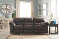 Boxberg Teak Reclining Power Sofa