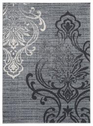 Verrill Gray/Black Large Rug