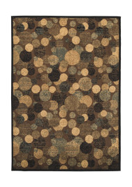 Vance Brown/Cream Medium Rug