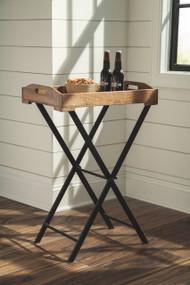 Cadocridge Brown/Black Accent Table