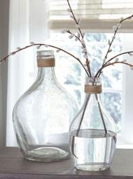 Marcin Clear Vase Set (2/CN)