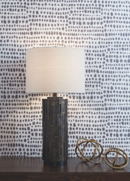 Makya Black Poly Table Lamp