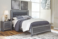 Lodanna Gray Queen Panel Bed