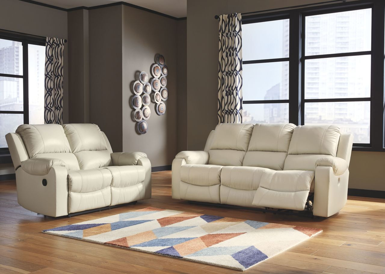 Superb Rackingburg Cream Reclining Sofa Reclining Loveseat Gmtry Best Dining Table And Chair Ideas Images Gmtryco