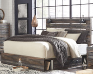 Drystan Multi King Panel Storage Bed