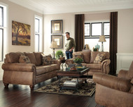 Larkinhurst Earth Sofa, Loveseat & Rocker Recliner