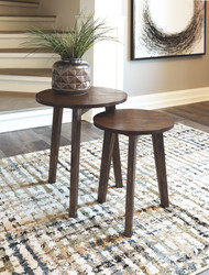 Clydmont Brown Accent Table Set