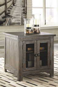 Danell Ridge Brown Rectangular End Table