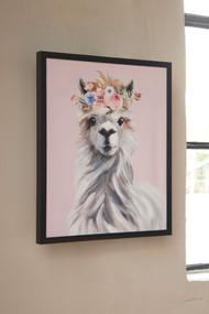 Josie Pink/White/Gray Wall Art