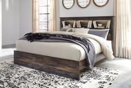 Drystan Multi King Panel Bookcase Bed